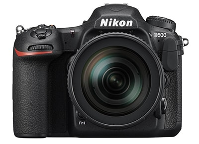 DSLR Nikon D500 16-80mm Kit - Μαύρο