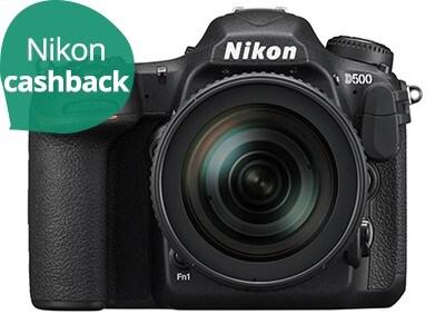DSLR Nikon D500 16-80mm Kit - Μαύρο