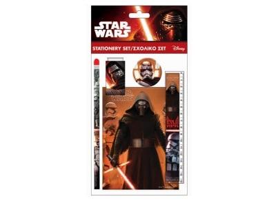 Σετ Σχολικό & Μπλοκ GIM Star Wars Episode 7 (338-15755)