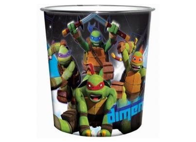 Κάδος Γραφείου GIM Ninja Turtles (555-43353)