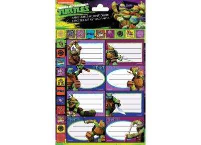 Αυτοκόλλητες Ετικέτες & Αυτοκόλλητα GIM Ninja Turtles (774-02349)