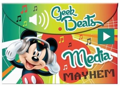 Φάκελος GIM Α4 PP Mickey με Κουμπί (340-72580)