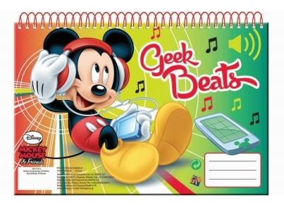 Μπλοκ Zωγραφικής GIM Mickey A4 30 Φύλλων (340-72413)