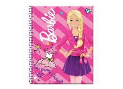 Μπλοκ 2 Θεμάτων GIM Barbie 9x11.5cm 80 Σελίδων (349-50480)
