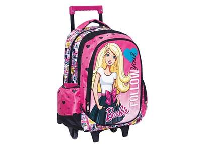 Σακίδιο Τρόλεϋ GIM Barbie Girl (Δώρο DVD) (349-53074)