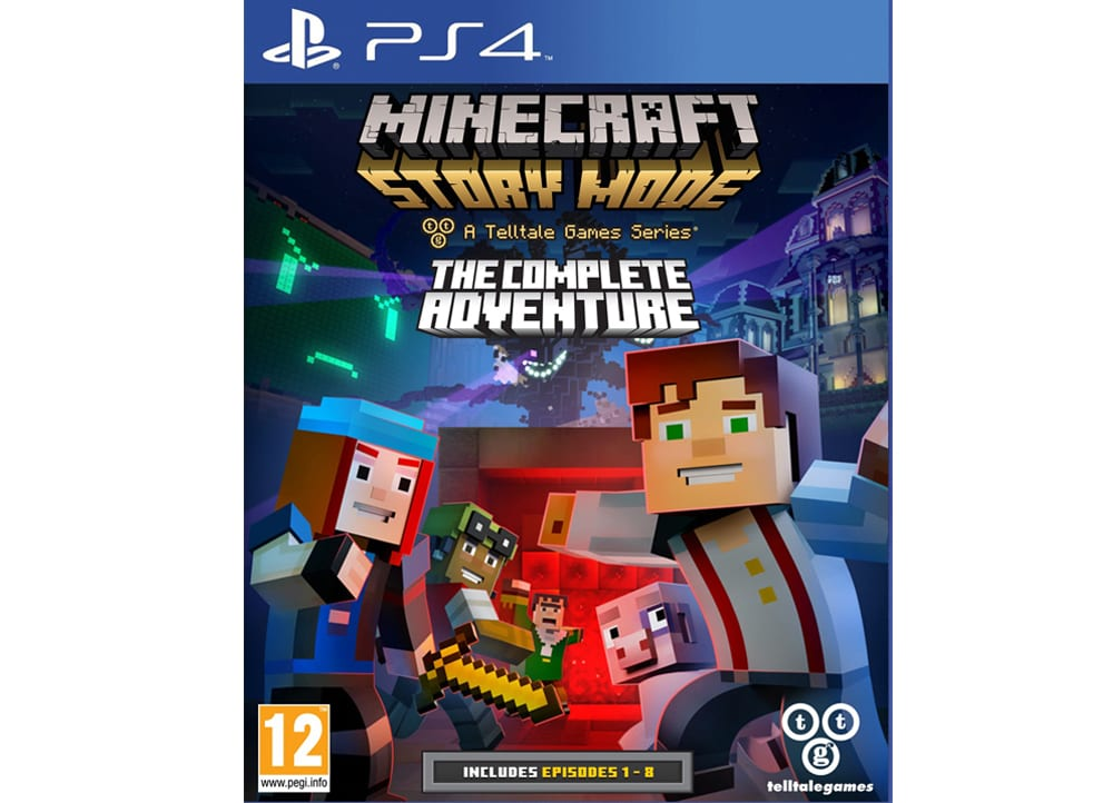 minecraft story mode the complete adventure ps4 game. Black Bedroom Furniture Sets. Home Design Ideas