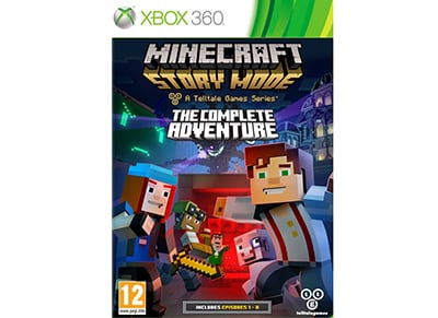 Minecraft Story Mode: The Complete Adventure - Xbox 360 Game
