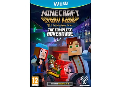 Minecraft Story Mode: The Complete Adventure - Wii U Game gaming   παιχνίδια ανά κονσόλα   wii u