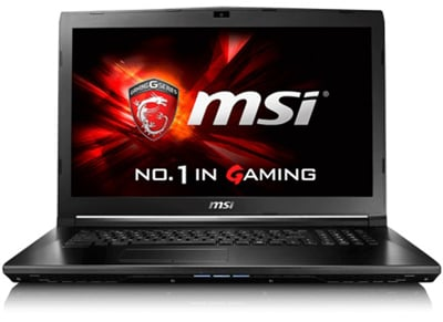 "Laptop MSI GL72 6QF-407NL - 17.3"" (i7-6700HQ/8GB/ 1128GB/960M)"