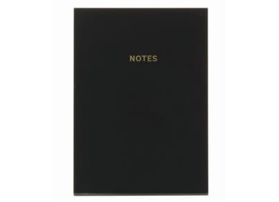 Σημειωματάριο GO Stationery Colour Block Mono Black - Extra Large