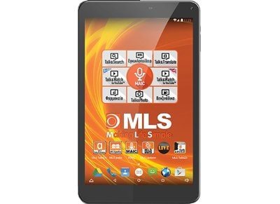 "MLS iQTab Idol - Tablet 10.1"" 16GB Μαύρο"