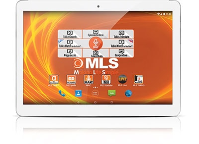 "MLS iQTab Angel 3G - Tablet 9.6"" 3G 32GB Λευκό"