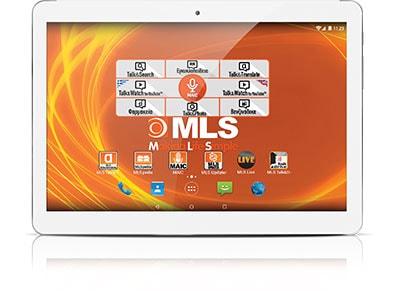 "MLS iQTab Angel 3G - Tablet 9.6"" 3G 32GB Λευκό tablets   tablets"