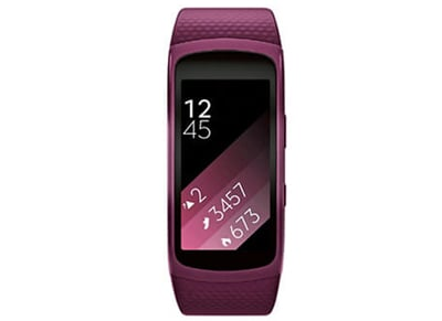 Activity Tracker Samsung Gear Fit2 Small Ροζ