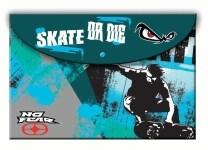 Φάκελος No Fear Proffesional Skater Α4 PP με Κουμπί