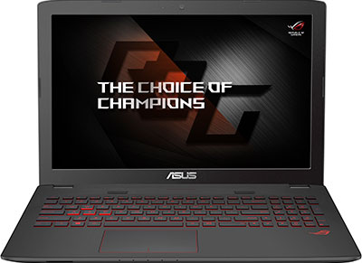 "Laptop Asus ROG GL752VW-T4016T - 17.3"" (i7-6700HQ/16GB/1128GB/ 960M)"