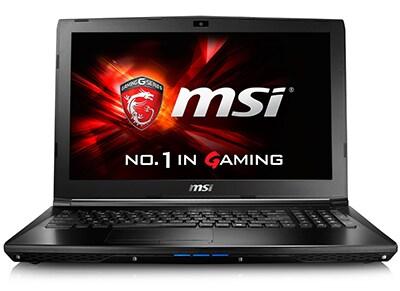 "Laptop MSI GL62 6QF-632NL - 15.6"" (i7-6700HQ/8GB/ 1128GB/960M)"