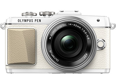 Mirrorless Camera Olympus E-PL7 Kit 14-42mm EZ Pancake - Λευκό φωτογραφία   βίντεο   mirrorless