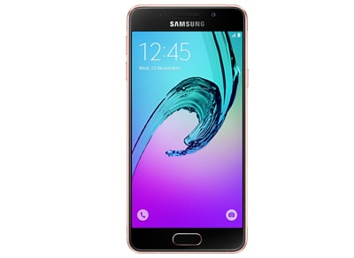 4G Smartphone Samsung Galaxy A3 2016 16GB Pink Gold τηλεφωνία   smartphones