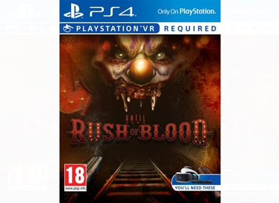 Until Dawn: Rush of Blood - PS4/PSVR Game gaming   παιχνίδια ανά κονσόλα   ps4