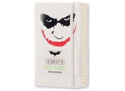 Moleskine Ημερολόγιο 12μηνο 2017 Ημερήσιο Hard Cover Pocket Batman Limited Edition Άσπρο