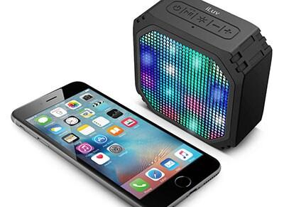 Φορητά Ηχεία iLUV AUD Mini Party Bluetooth Radio Μαύρο ήχος   ηχεία   φορητά ηχεία