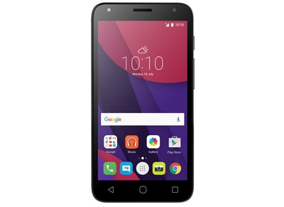Smartphone Alcatel OneTouch Pixi 4 (5) Dual Sim 8GB Μαύρο (5010D)