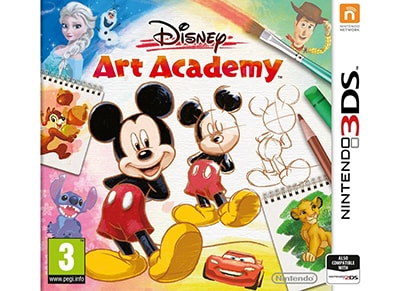 Disney Art Academy - 3DS Game
