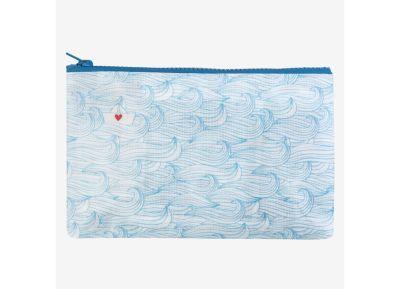 Πορτοφόλι Legami - Boat - Για κέρματα - Μπλε