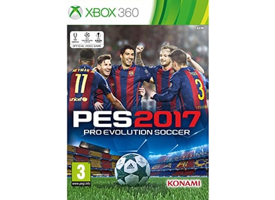 Pro Evolution Soccer 2017 - Xbox 360 Game