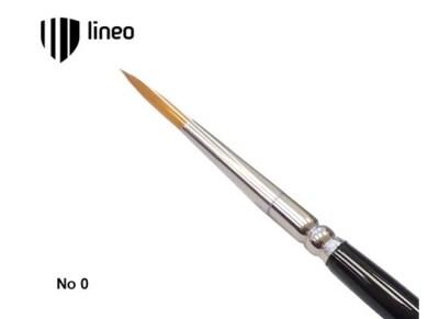 Πινέλο Ζωγραφικής Lineo Νο0 Στρογγυλό Συνθετικό