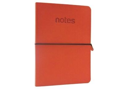 Σημειωματάριο Make Notes Ruled Πορτοκαλί - Large