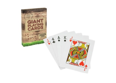 Giant Playing Cards - Professor Puzzle
