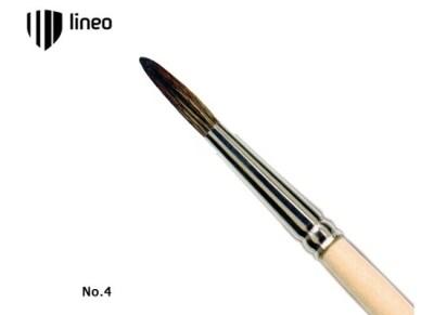 Πινέλο Ζωγραφικής Lineo School Νο10 Στρογγυλό Συνθετικό