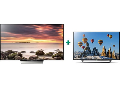 "Τηλεόραση Sony KD 55XD8505BAEP 55"" Smart LED Ultra HD & 32"" Smart TV LED HD Ready 32WD600"