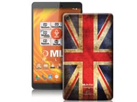 "MLS iQTab Designs II WiFi - Tablet 8"" 8GB British Flag"