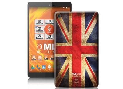 "MLS iQTab Designs II WiFi - Tablet 8"" 8GB British Flag"