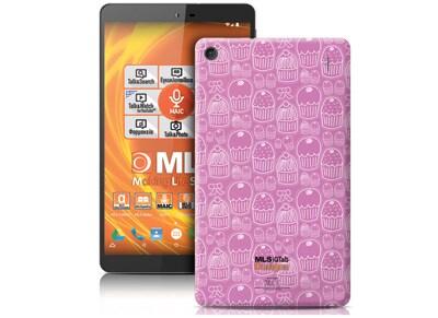 "MLS iQTab Designs II WiFi - Tablet 8"" 8GB Cup Cakes"