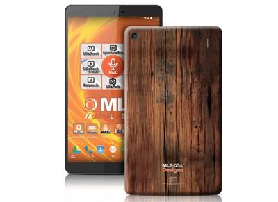 "MLS iQTab Designs II WiFi - Tablet 8"" 8GB Wood"