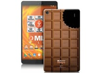 "MLS iQTab Designs II WiFi - Tablet 8"" 8GB Chocolate"