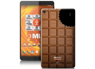 "MLS iQTab Designs II Tablet 8"" 8GB Chocolate"