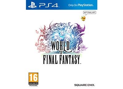 World of Final Fantasy - PS4 Game gaming   παιχνίδια ανά κονσόλα   ps4