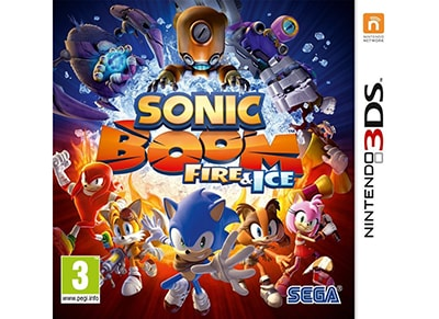 Sonic Boom: Fire & Ice - 3DS/2DS Game gaming   παιχνίδια ανά κονσόλα   3ds 2ds