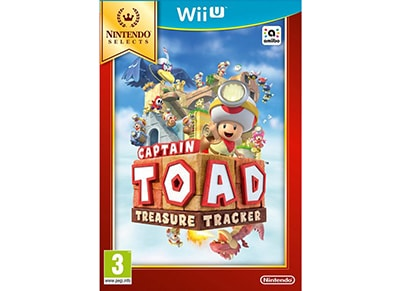 Captain Toad: Treasure Tracker Selects - Wii U Game