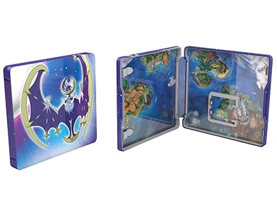 Pokemon Moon Steelbook Edition - 3DS/2DS Game