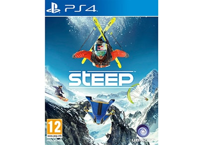 PS4 Used Game: Steep gaming   used games   ps4 used