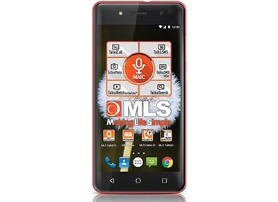 """4G Smartphone MLS More 5"""" - Dual Sim Ροζ"""