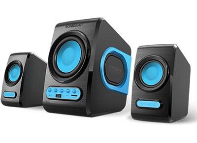 SonicGear 2.1 Subwoofer Speaker set - Ηχεία - Μπλε