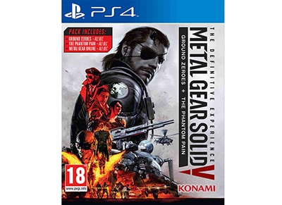 Metal Gear Solid V Definitive Edition - PS4 Game