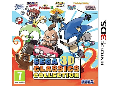 SEGA 3D Classics Collection - 3DS/2DS Game